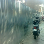 دیوار و حفاظ با ورق-051